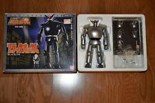 Unique Customized Black Ox Metallic Silver Tetsujin 28 Gigantor Bandai Chogokin