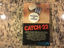 CATCH-22 RARE NEW SEALED BETA BETAMAX TAPE 1970 ALAN ARKIN, ART GARFUNKEL WAR!