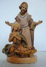 Vntg. Fontanini Nativity ~ Holy Family ~ Simonetti ~ Depose Italy ~ Spider Mark