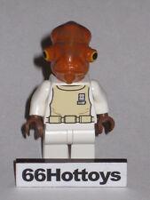 LEGO STAR WARS 7754 Admiral Ackbar Minifigure New