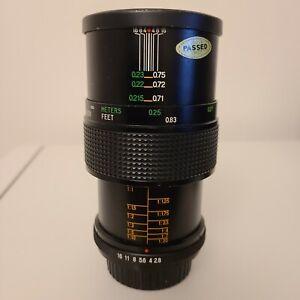 Vivitar 55mm f/2.8 Macro Lens for Pentax PK