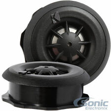 """Kicker CST204 3/4"""" 100W RMS Surface/Angle/Flush Mount Car Stereo Dome Tweeters"""