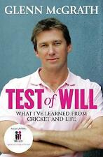 Test of Will: What I've Learned from Cricket and Life by Glenn McGrath (Paperback, 2015)