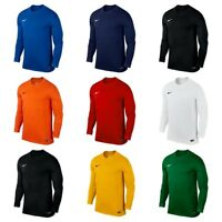 Nike Mens Park Long Sleeve Jersey Dri Fit Football Shirts Top Sports Size L 2XL