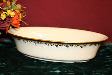Lenox Eclipse Open Vegetable Oval Bowl NEW USA $267 second quality
