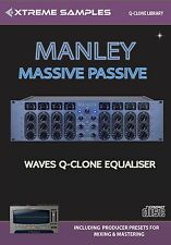 XTREME samples Manley Massive passiva Waves Q-clone Library