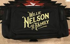Willie Nelson and Family Black Collectible Duffle Bag Country Music Tour Bag