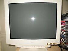 "Vintage Dell 19"" UltraScan P990 Flat Screen COLOR Trinitron CRT Monitor"