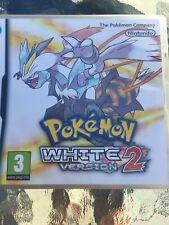Nintendo DS Pokemon White Version 2 - Very Good Condition