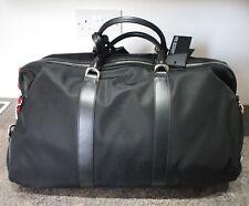 Neil Barrett Nylon & Leather Gym Bag Holdall