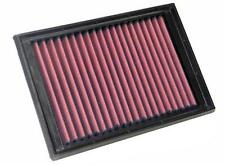 K&N Hi-Flow Performance Air Filter 33-2510 fits Peugeot 206 2.0 RC