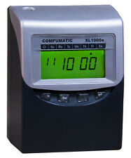 COMPUMATIC XL1000e NEWEST FULL FEATURE TOTALING TIME CLOCK WITH ENHANCED RULES