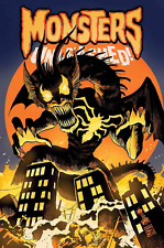 MONSTERS UNLEASHED #6 VENOMIZED FIN FANG FOOM VARIANT MARVEL COMICS