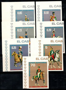 Equatorial Guinea 1976 Mi. A775-A781 MNH 100% Uniforms