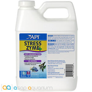 API Stress Zyme 32oz Aquarium Water Cleaner and Active Bio Filter Supporter