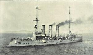SMS Leipzig 1905 Kleiner Kreuzer Kaiserliche Marine Wandbild