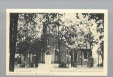 pk34221:Postcard-St Andrew's United church,Marmora,Ontario