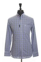 Robert Graham Jeans Purple Check Casual Shirt Large 13832