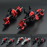 CNC Metal Front & Rear Portal Axle Assembly for SCX10 I II 1/10 RC Climbing Car