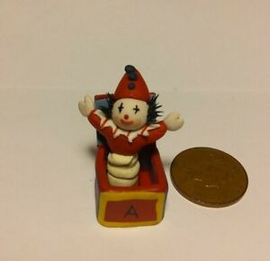 Dolls House Miniatures 1/12th Scale - Childs Jack-In-The-Box
