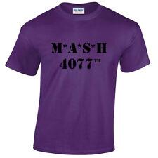 MASH 4077th Mens T-Shirt TV Show Programme US retro Medics Marines Fancy Dress