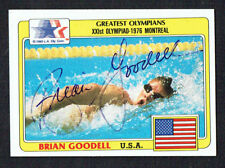Brian Goodell #3 signed autograph auto 1983 Topps Greatest Olympians Card