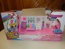 NIB SPIN MASTER THE POWERPUFF GIRLS  FLIP TO ACTION OPERATION TRANSFORMATION