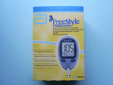 New product freestyle freedom glucometer set.