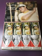 Vintage 1970s Faultless Mvp Golf Balls Complete New Unused Box