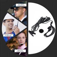 78F3 Weave 2 Pin Durable Walkie-Talkie Headset Walkie-Talkie Microphone