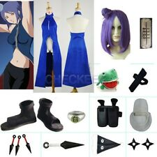 Naruto Konan Cosplay costume with wig