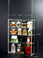 High-Gloss Acrylic Display box sliding door for Mini car Perfume Toy collectible