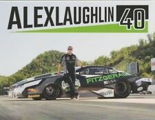 2018 Alex Laughlin Fitzgerald Chevy Camaro Pro Stock Bristol NHRA postcard