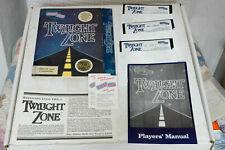 "Vintage 1980's IBM PC Game Twilight Zone On 5.25"" Floppy Disks"