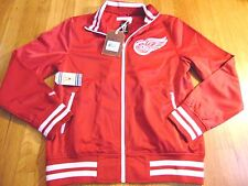 MITCHELL NESS NHL VINTAGE HOCKEY DETROIT RED WINGS TAILORED FIT TRACK JACKET M