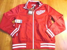 MITCHELL NESS NHL VINTAGE HOCKEY DETROIT RED WINGS TAILORED FIT TRACK JACKET L