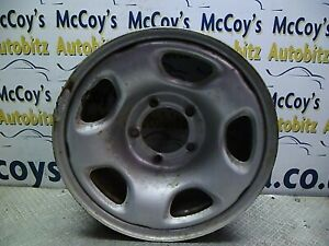 "Suzuki Grand Vitara 1998 -2005 / Spare Wheel RIM STEEL  16"""