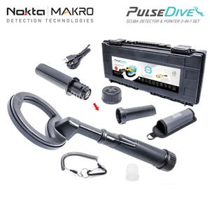 Nokta Makro PulseDive Black Unterwasserdetektor Metalldetektor