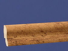 Sockelleiste 0,76 €/m clippfähig Länge 2,6 Meter Dekor Pinie Antik Dunkel