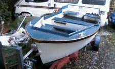 FISHING BOAT/WORK BOAT/DINGHY with TRAILER in CORNWALL.