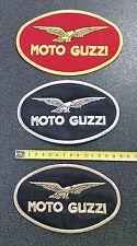 Patch in tessuto con scritta Moto Guzzi 150mm