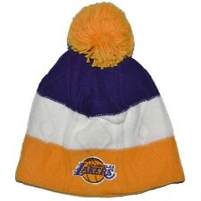 LOS ANGELES LAKERS NBA ADIDAS POM POM BEANIE
