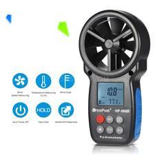 Hold-Peak HP-866B MiniLCD Digital Anemometer Wind Speed Temperature Measure D8H2