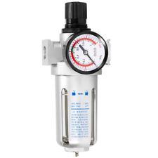 3/8'' Air Pressure Regulator Filter Water Separator with Built-in Pressure Gauge