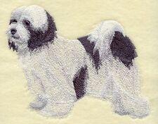 Embroidered Long-Sleeved T-Shirt - Tibetan Terrier C9655 Sizes S - Xxl