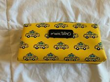 NYC Taxi Cosmetic Case  Pencil Case by Marc Tetro - Brand New!