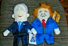 """Trump """"DOGNALD"""" & Biden """"JO BITEN'"""" - Trump & Biden Bark Box Dog Toy w/ Squeaker"""