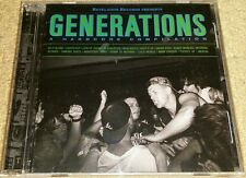 GENERATIONS - A HARDCORE COMPILATION CD (SEALED) SXE NYHC TERROR SICK OF IT ALL