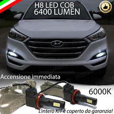 KIT FULL LED HYUNDAI TUCSON LAMPADE H8 FENDINEBBIA CANBUS 6400L 6000K