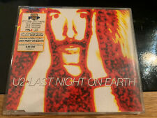 U2 ~ Last Night on Earth Single 3 tracks With rare German RTL sticker Pop Mart
